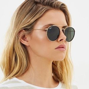 Ray-ban Round double bridge classic G15 NEW